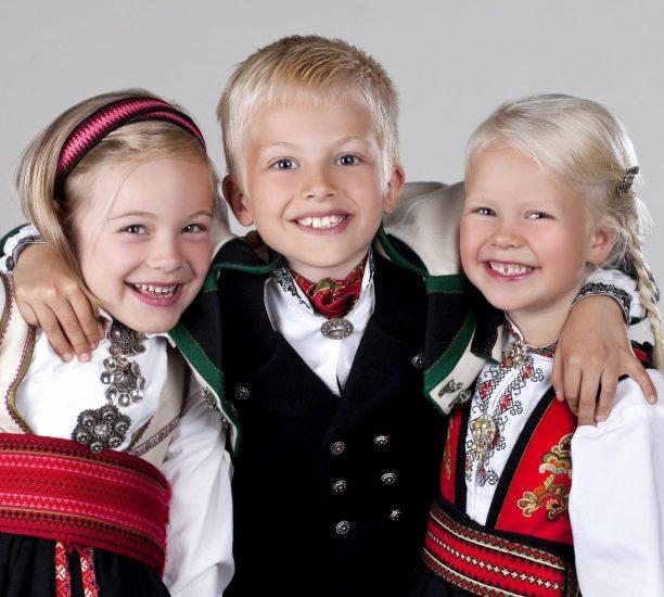 Almankås Telemarksbunader barn