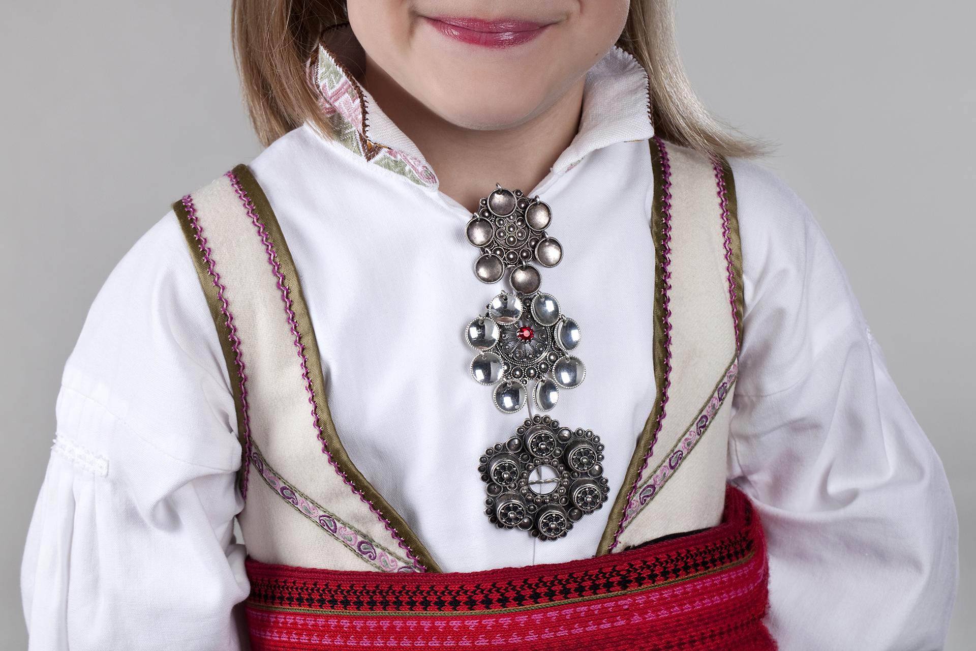 Almankås beltestakk sølv barn