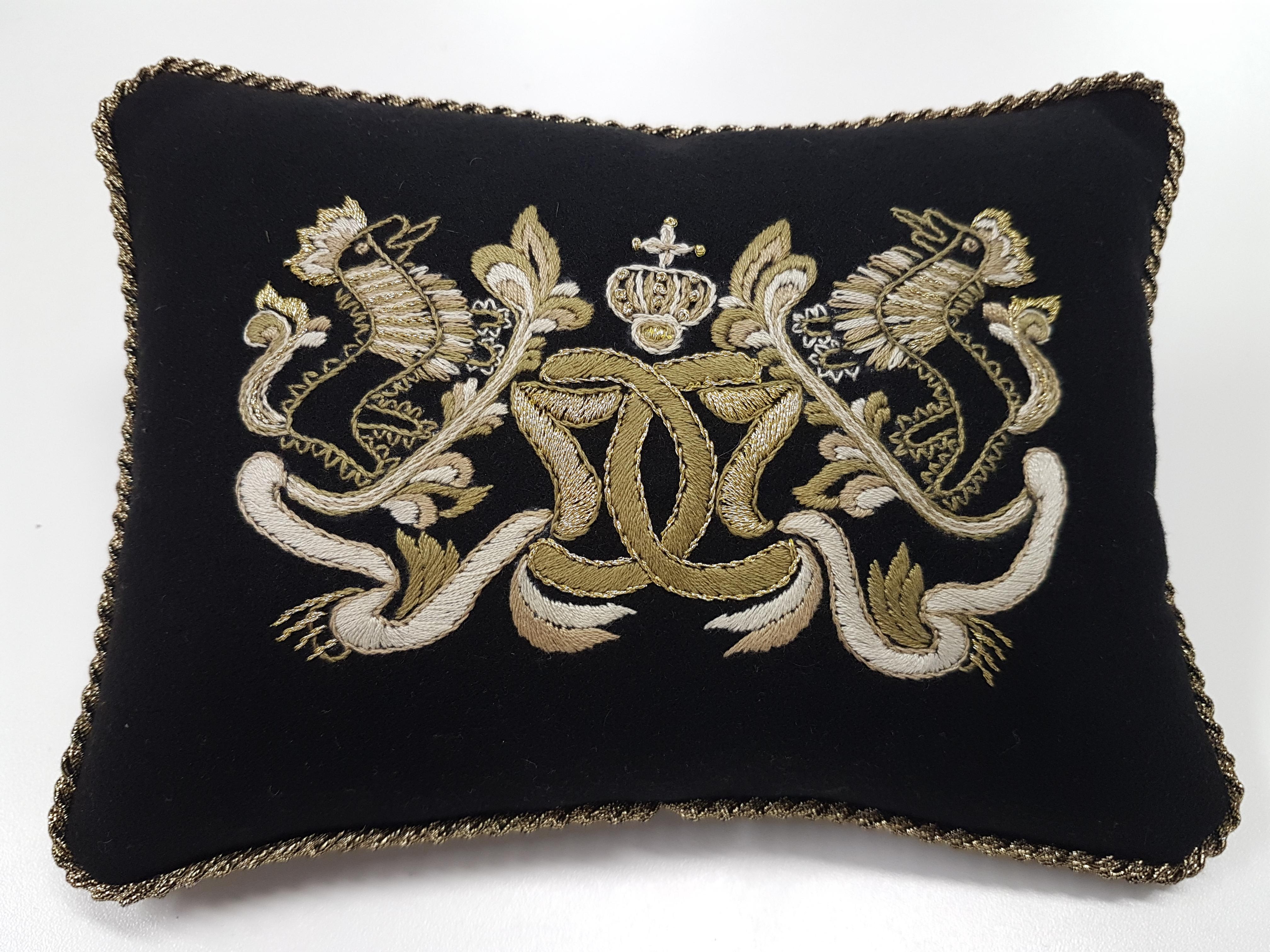 er monogrammet til kong Christian den 7. av Danmark-Norge